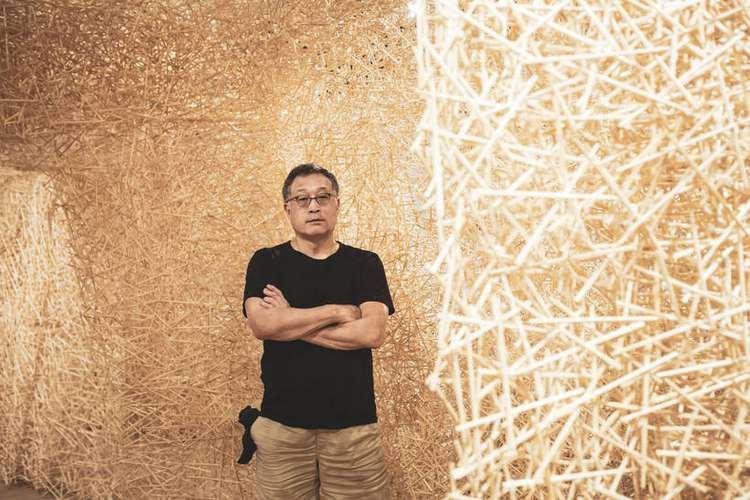 """Japan House oferece """"Construção"""" do artista Tadashi Kawamata"""